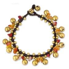 The Tiraphan Hasub Carnelian Beaded Bracelet