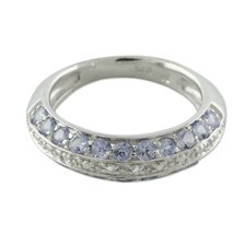 The Siddharth Sterling Silver Gemstone Band Ring