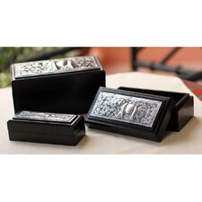 <strong>Novica</strong> The Wittaya Wood Box (Set of 3)