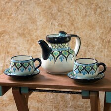 The Roberto Perez 5 Piece Ceramic Tea Set