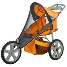Accessory Single Fixed Wheel Stroller Bug Cover
