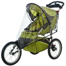 Single Fixed Wheel Stroller Weather Shield Cover