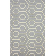 Air Libre Grey Charles Indoor/Outdoor Area Rug