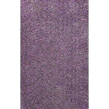 Glamour Purple Viola Shag Rug