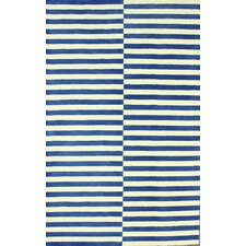 San Miguel Blue/Ivory Scully Area Rug