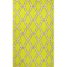 Heritage Juliet Green Area Rug