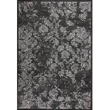 Dawn Black Keva Indoor/Outdoor Rug