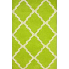 Varanas Light Green Mason Rug