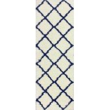 Shaggy Blue Aryp Rug