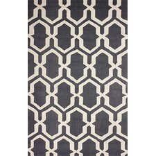 Barcelona Grey Rillas Area Rug
