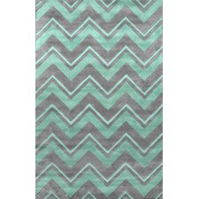 Gradient Green Soni Area Rug