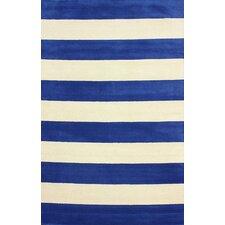 San Miguel Blue/Ivory Sylvester Area Rug