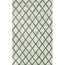 Europe Green Thiest Area Rug