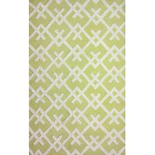 Santa Fe Yellow/White Daphne Area Rug