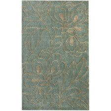 Cine Blue Lotus Area Rug