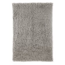 Flokati Grey Area Rug