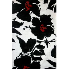 Pop Amore Black/White Rug