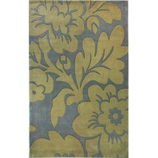 Pop Chelsea Blue/Yellow Rug