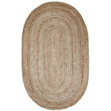 <strong>nuLOOM</strong> Natura Jute Braided Natural Contemporary Rug