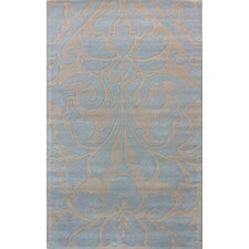 Gradient Light Blue Sienna Area Rug
