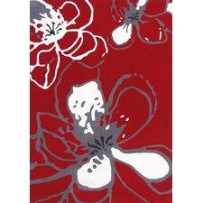 Modella Urban Fleur Red Rug