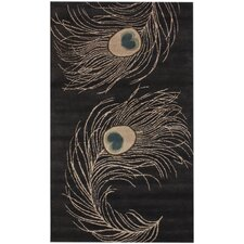 Hudson Peacock Tan Area Rug