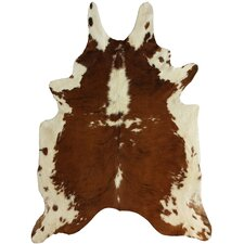<strong>nuLOOM</strong> Cowhide Tan/Brown Rug