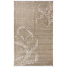 Havana Octopus Tail Ivory Novelty Rug