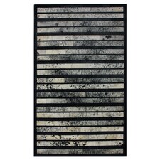 Hudson Franklin Black Rug