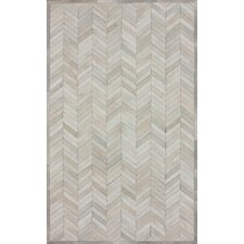 Hudson Chevron Natural Rug