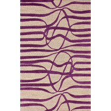 Bella Elite Purple Rug