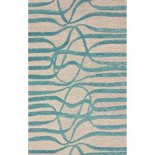 Fancy Noble Blue/Grey Area Rug