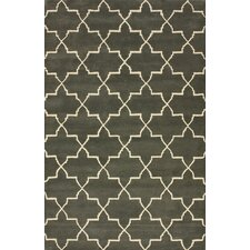 Bella Marrakesh Moroccan Trellis Nickel Rug