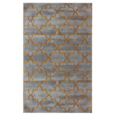 Bella Marrakesh Moroccan Trellis Smoky Grey Rug