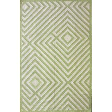 <strong>nuLOOM</strong> Couture Kilim Diamond Green Rug