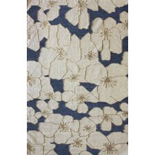 Couture Kilim Floral Fantasy Natural Rug