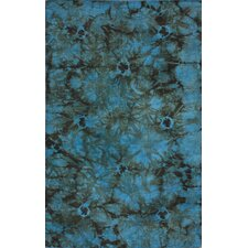 Couture Kilim Splash II Blue Rug