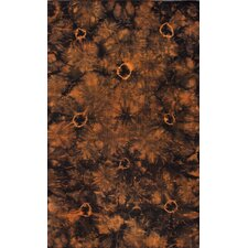 Couture Kilim Splash III Orange Rug