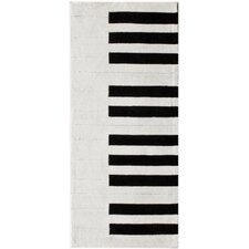 Cine White Piano Outdoor Area Rug