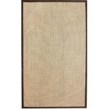 Natura Sisal Herringbone Brown Rug