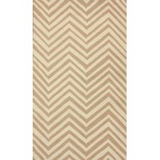Chelsea Cream / Sand Chevron Area Rug