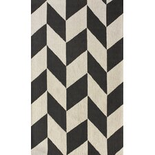 Chelsea Chevron Charcoal Area Rug