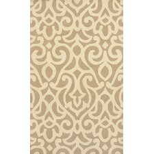Chelsea Atlantic Damask Tan Rug