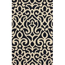 Chelsea Atlantic Damask Navy Rug