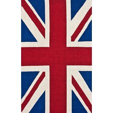 Chelsea Union Jack Red Novelty Rug