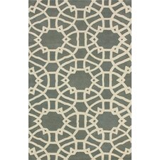 Marbella lattice Grey Rug