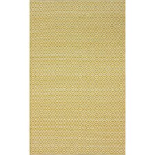 Keen Lemon Curry Rhina Trellis Rug