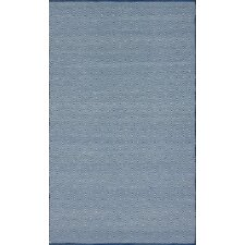 Keen Regal Blue Chevron Trellis Rug
