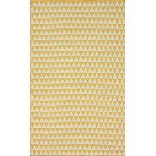 Brilliance Yellow Spectrum Area Rug