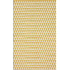 Brilliance Yellow Spectrum Rug